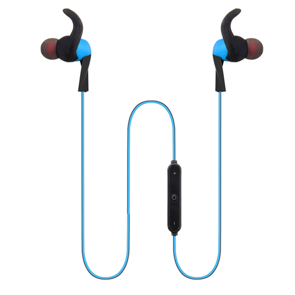 Bluetooth 4.2 Wireless Stereo Sports Earphone Blue Colour