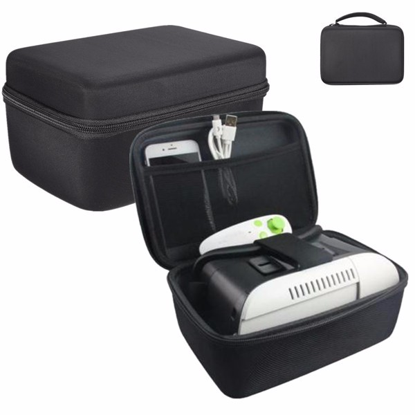 Universal Carrying Storage Portable Bag Supported Samsung Gear VR 3D Oculus Headset Glasses for Travel