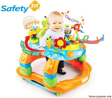 safety 1st melody garden 3in1 activity centre walker