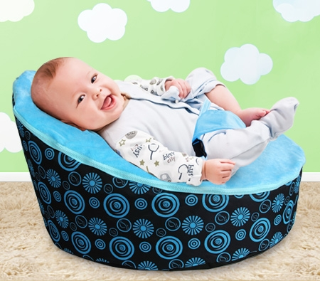 Blue Baby Bean Bag