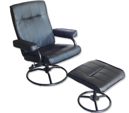 Recliner Chair   Foot Stool   Leather Office Chair   Recline   SwivelRecliner Chair   Foot Stool   Leather Office Chair   Recline  . Office Chair Recline. Home Design Ideas