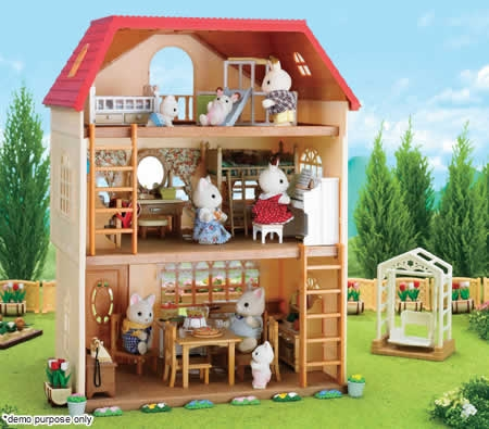 Sylvanian Families Cedar Terrace Doll House Online Shopping