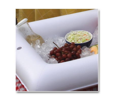 Inflatable and Portable Salad Bar/Buffet Table Top/Cooling ...