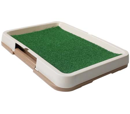 Pet Toilet Pad Indoor Dog Grass Restroom - Large - Coffee Coloured ...