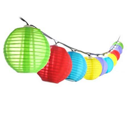 Square Lantern String Lights : Multi-Colour Chinese Lantern Solar String Lights - Online Shopping @ Shopping Square.COM.AU ...