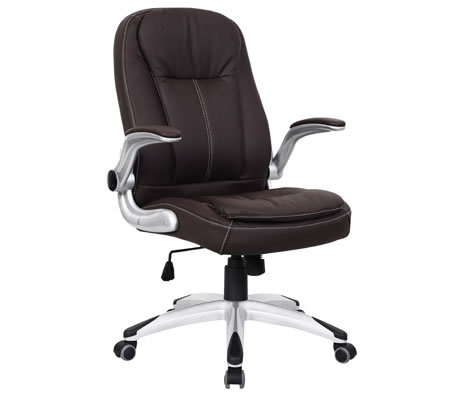 Ergonomic Adjustable High Back PU Leather Executive Office Chair