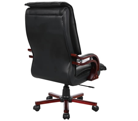 professional high back executive genuine leather office chair