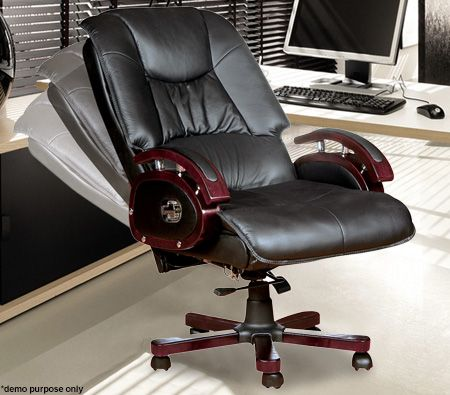 Reclining Leather Office Chair            Code  P55579  Reclining Leather Office Chair   Online Shopping   Shopping Square  . Office Chair Recline. Home Design Ideas
