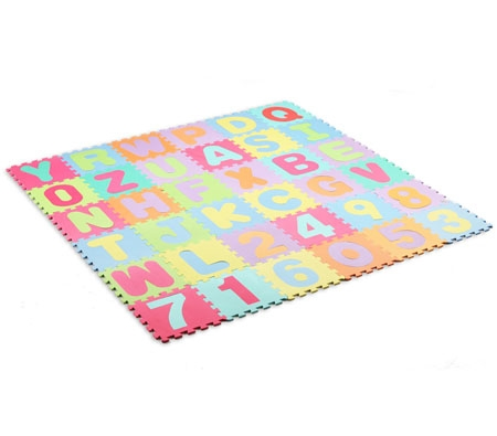 Kids Alphabet & Numbers Floor Puzzle Play Mat