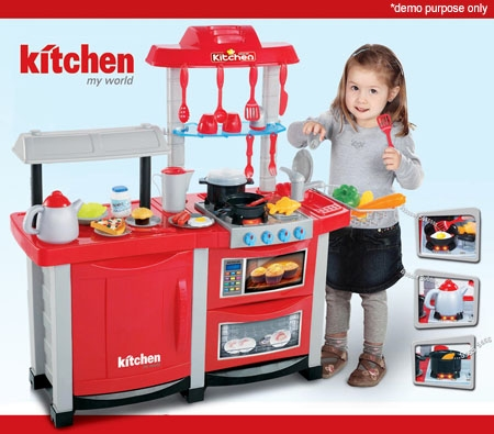 Interactive Toy Kitchen Play Set Online Shopping Shopping Square