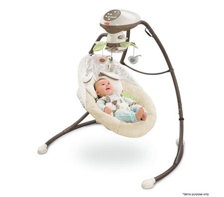 Fisher Price My Little Snugabunny Cradle N Swing Online