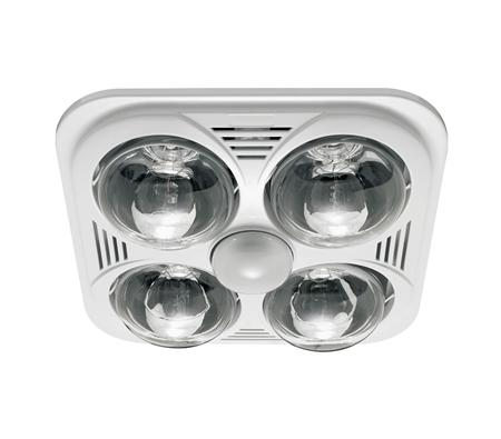 Heller 3 In 1 Essential Bathroom Light Heater Exhaust Fan Online Shopping Shopping Square