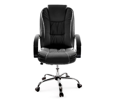 Black Faux Leather Executive Chair Online Shopping Shopping Square COM AU