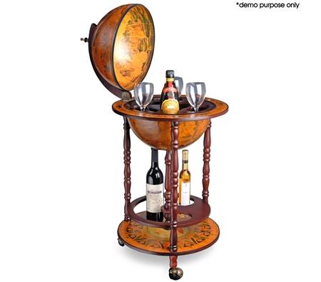 Antique Globe Bar Cabinet /Drink Trolley - Antique Globe Bar Cabinet /Drink Trolley - Online Shopping