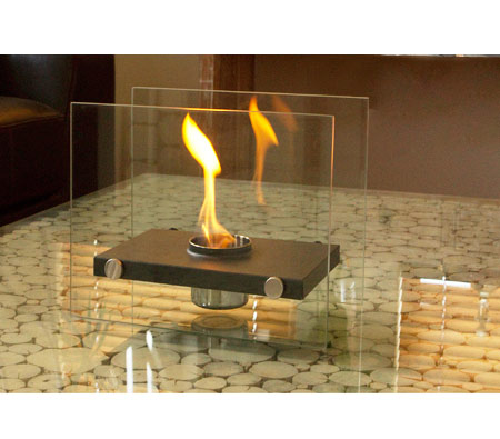 Home Expression Eco Friendly Rectangle Fireplace - 1 Pot. ‹ › - Home Expression Eco Friendly Rectangle Fireplace - 1 Pot - Online