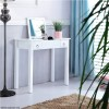 White Vanity Jewellery Storage Table