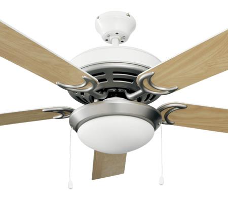 Heller destiny 1300mm 5 reversible blade ceiling fan with light heller destiny 1300mm 5 reversible blade ceiling fan with light white washed oak reversible blades audiocablefo