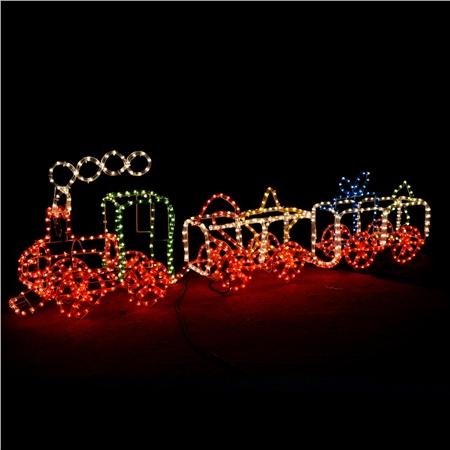 flashing train christmas lights - Christmas Light Train