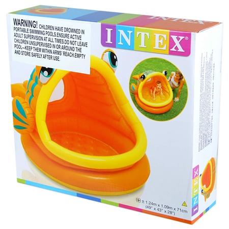 Intex lazy fish baby shade pool online shopping for Intex pool koi pond
