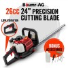 26CC Precision Dual Blade Hedge Trimmer