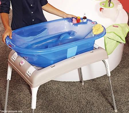 OKBaby Universal Folding Baby Bath Tub Stand - Online Shopping ...