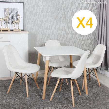 Eames Eiffel Style Replica Designer Dining Chairs Cafe Online Shopping Sh