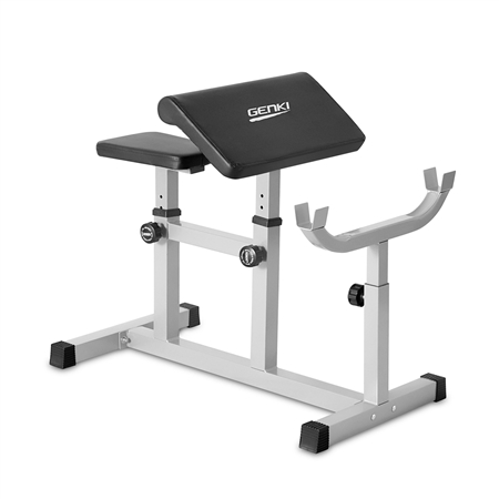 Genki Preacher Curl Weight Bench Online Shopping Shopping Square Com Au Online Bargain