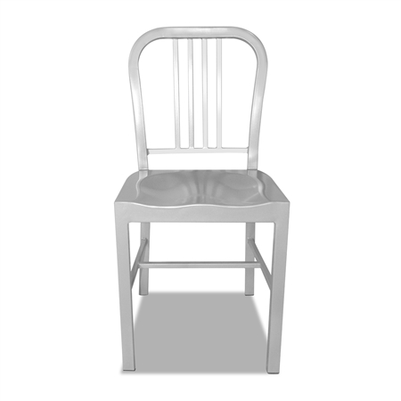 Set Of Metal Navy Dining Chairs Silver Online Shopping Shopping Square CO