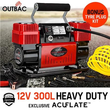 Outbac Air Compressor 12v 300L 4x4 Portable Car Compressor - OTB700