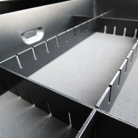 Shogun Tool Box With Adjustable Drawer Divider