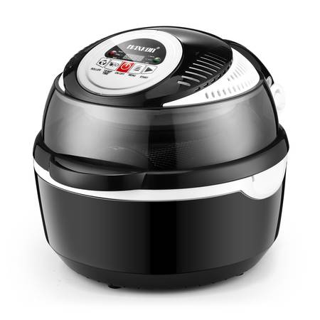 6-in-1 Portable Air Fryer Convection Oven Cooker-Black
