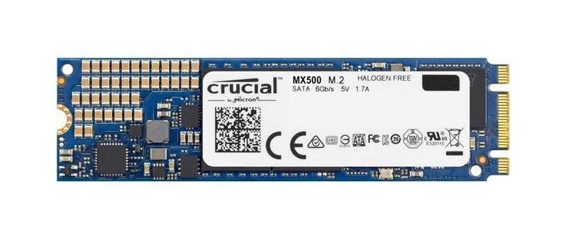 Crucial SSD M.2 : 1TB MX500 2280SS, R/W(Max) 560MB/s/510MB/s, 95/90K IOPS, 5 yrs wty