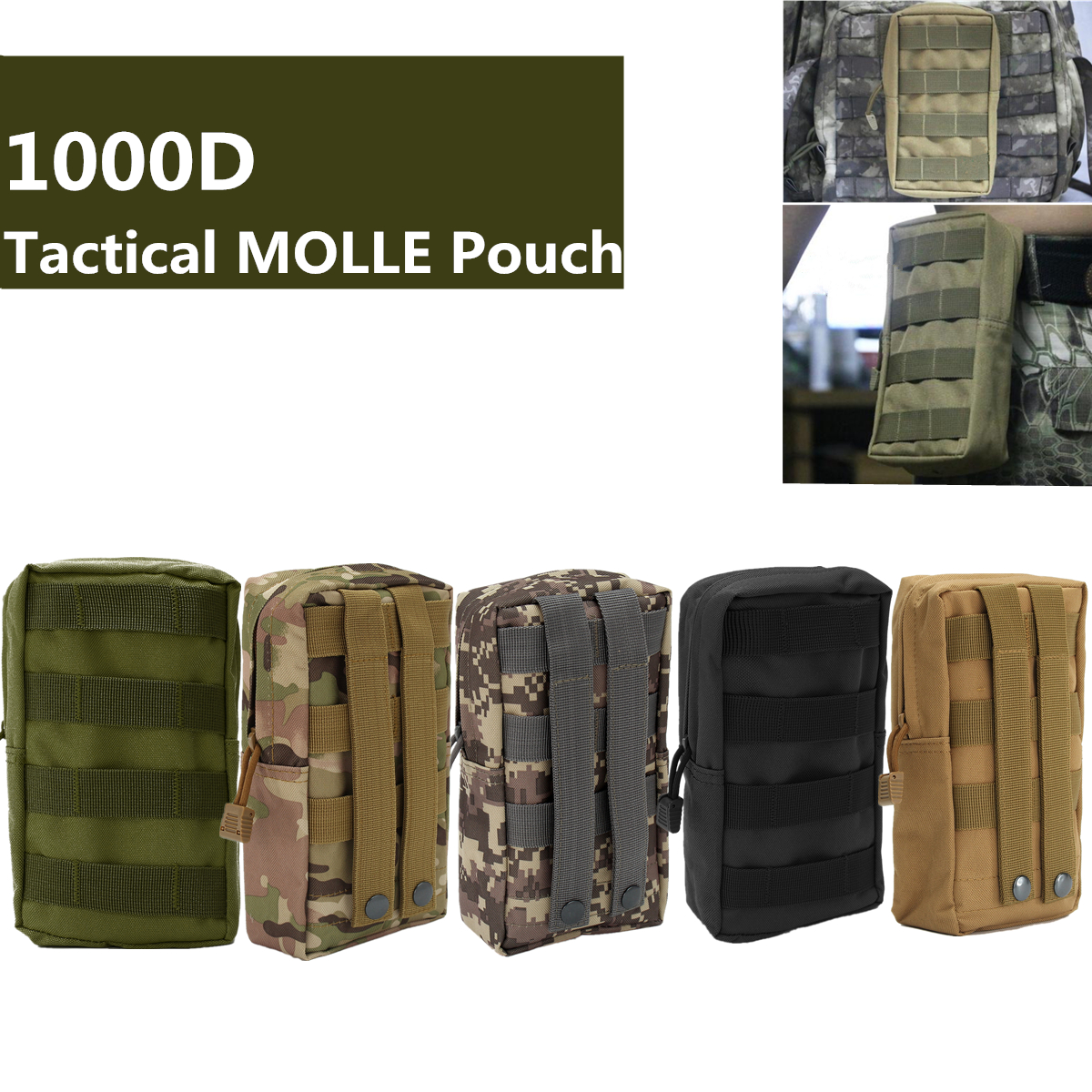 Outdoor Tactical Portable Storage Bag Pouch For Smartphone