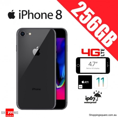 Apple iPhone 8 256GB 4G LTE Unlocked Smart Phone Space Gray