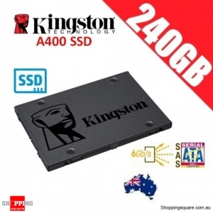 Kingston A400 SSD 240GB Solid State Drive SATA 3 6GB/s Laptop PC Notebook Up to 500MB/s