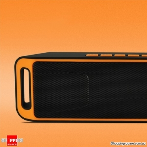 Portable Bluetooth 4.0 Mini Wireless Stereo Speaker with Mega Bass For Android iPhone -Orange