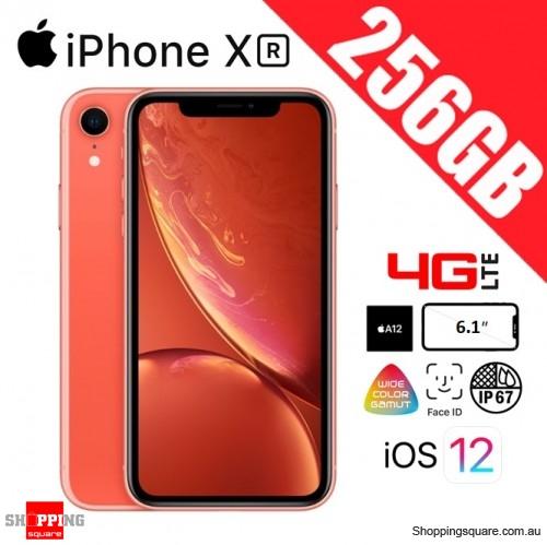 Apple iPhone XR 256GB 4G LTE Unlocked Smart Phone Coral