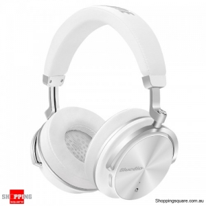 Bluedio T4 Wireless Bluetooth Noise Reduction Headphone Headset Type-C With Mic - White