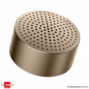 Xiaomi Portable Aluminum Alloy Mini Bluetooth Speaker - Gold