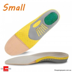 Arch Insole Shock Absorption Orthopedic Pad for Running Sport Pain Relieve Shoe Pads - Small