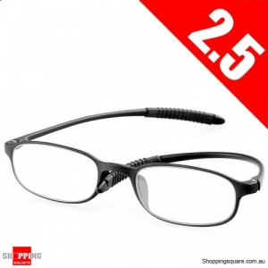 Ultralight Unbreakable Resin Best Reading Glasses Pressure Reduce Magnifying - 2.5