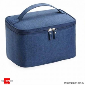 Waterproof Travel Portable Wash Bag Storage Bag Organizer - Navy