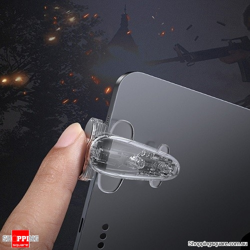 Baseus Gamepad Joystick for iPad Tablet L1 R1 Gaming Trigger Mobile Shooter Controller FPS Pad Game Fire Button Transparent