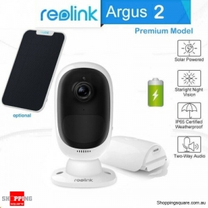 Reolink Argus 2 Security WiFi IP Camera with Rechargeable Battery