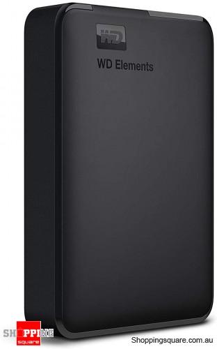 WD 4TB Elements Portable USB 3.0 High Capacity Hard Drive, WDBU6Y0040BBK-WESN