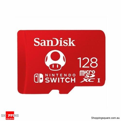 Nintendo Switch Micro SD Card SanDisk 128GB SDXC Genuine Memory