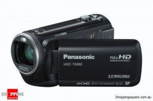 Panasonic HDC-TM80 Black Digital Camcorder