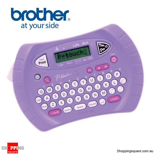 Brother PT-70 Lilac Large Display Labeller