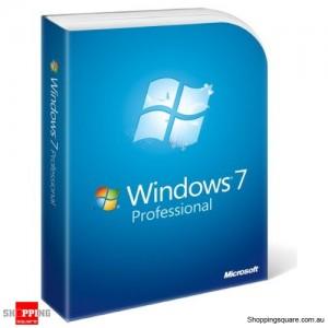Microsoft Windows 7 Professional English DVD Retail Package