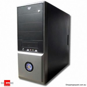 Powecase 7502 Mid Tower Case with 550W Power Supply